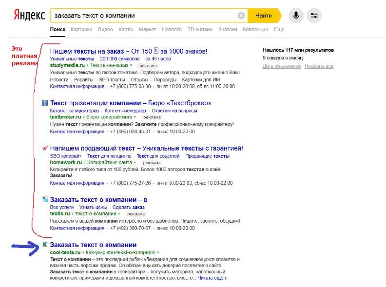 Вывел сайт в топ Яндекс